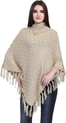 eWools Women Winter Wear Woolen Poncho