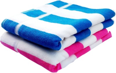 K.S. Collection Terry Cotton 450 GSM Bath Towel(Pack of 2)