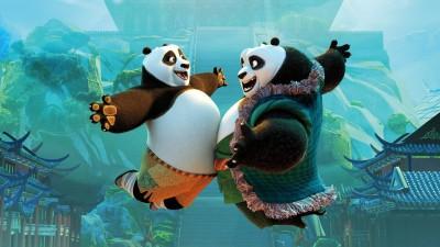 Movie Kung Fu Panda 3 Po 2 ON FINE ART PAPER HD QUALITY WALLPAPER POSTER Fine Art Print(19 inch X 13 inch, Rolled)