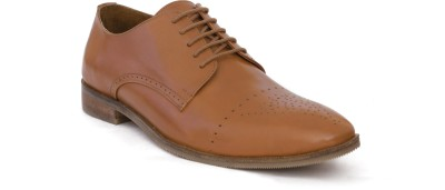 Belobog KUTI Derby For Men(Tan)