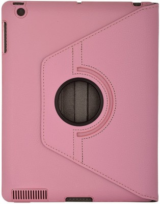 San Pareil Flip Cover for Apple iPad, Apple Ipad 2, Apple Ipad 3, Apple Ipad 4(Baby Pink, Cases with Holder)