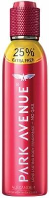 Park Avenue Alexander Deodorant Pack of 1 Body Spray  -  For Men(150 ml)