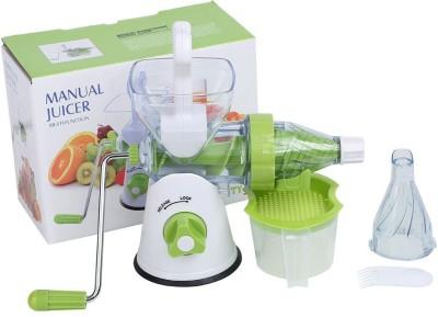 Wonder World ® Hand Press Commercial Pro Manual Citrus Orange Fruit Lemon Juicer Juice Squeezer Plastic Hand Juicer(Green, White Pack of 1)  available at flipkart for Rs.1199
