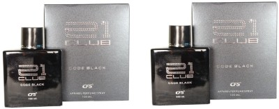 CFS Exotic 21 Club Code Black Perfume 100ML Eau de Parfum  -  200 ml(For Men & Women)  available at flipkart for Rs.650