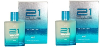 CFS Exotic 21 Club ICE Water Perfume 100ML Eau de Parfum  -  200 ml(For Men & Women)  available at flipkart for Rs.540