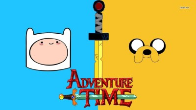 TV Show Adventure Time Jake The Dog Finn The Human HD Wall Poster Paper Print(12 inch X 18 inch, Rolled)  available at flipkart for Rs.139