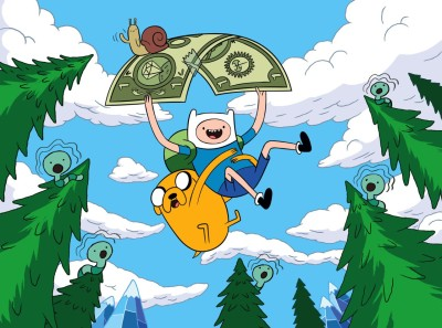 TV Show Adventure Time Finn The Human Jake The Dog HD Wall Poster Paper Print(12 inch X 18 inch, Rolled)  available at flipkart for Rs.207