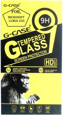 G-case Tempered Glass Guard for Microsoft Lumia 535  available at flipkart for Rs.135