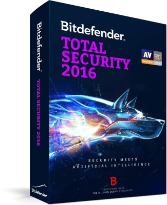 Bitdefender Total Security 1 PC 1 Year