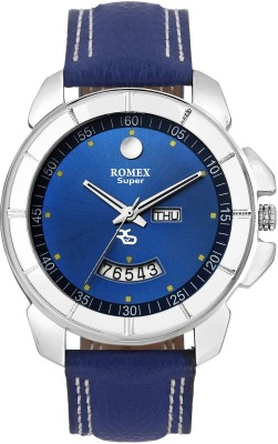 Romex DD-800BLUE DAY N DATE Analog Watch For Men