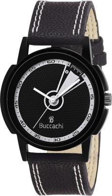 Buccachi B-G5005-BK-BK  Analog Watch For Men