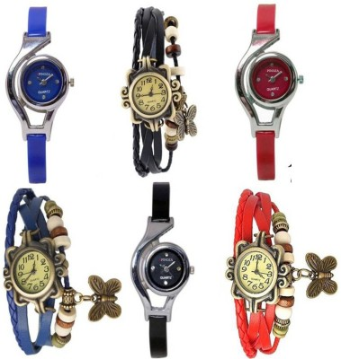 Image of BVM Enterprise Women Fashion studded latest collection with beautiful attractive Analog Watch BVM collection Special. Watch - For Girls
