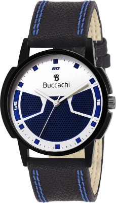 Buccachi B-G5006-WB-BK  Analog Watch For Men