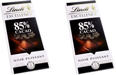 Lindt 85% Cocoa Bars(2 x 100 g) at flipkart