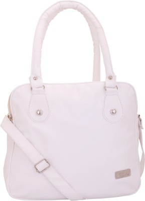 Lady bar Shoulder Bag(White)