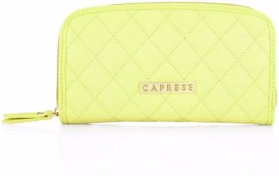 Caprese Casual Yellow  Clutch