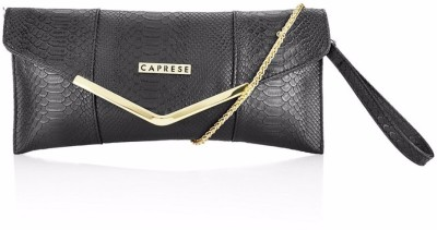 Caprese Casual Black  Clutch