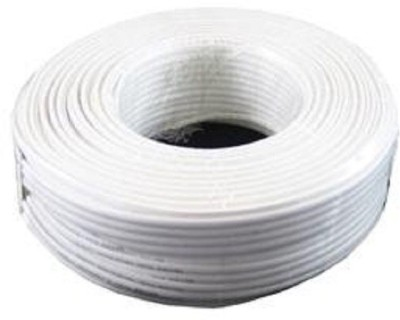 Citisite Cable PVC 0.5 sq/mm White 90 m Wire(White)