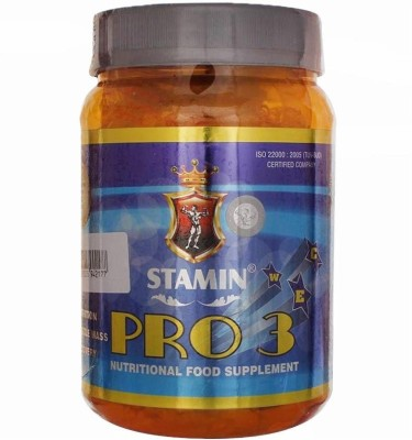 STAMIN pro 3 Whey Protein(1000 g, chocolate)  available at flipkart for Rs.1299
