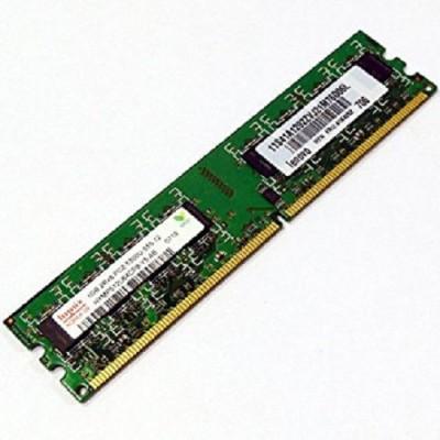 Hynix hymp125u64cp8-y5 DDR2 1 GB (Single Channel) PC ddrr 2 1gb (5300u)(Green)