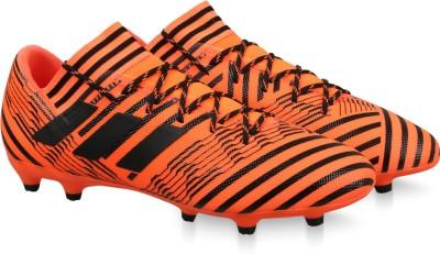 ADIDAS NEMEZIZ 17.3 FG Football Shoes For Men(Orange, Black