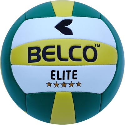 BELCO Elit-1(GREEN) Volleyball - Size: 4(Pack of 1, Green)