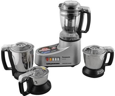 Panasonic MX-AC400 (Silver) 550 Mixer Grinder(Silver, 4 Jars)  available at flipkart for Rs.5199