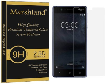Marshland Tempered Glass Guard for Nokia 3(Pack of 1)