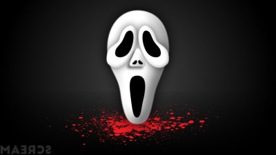 Akhuratha Wall Poster -Scream-movies-mask-blood Paper Print(12 inch X 18 inch, Rolled)  available at flipkart for Rs.312