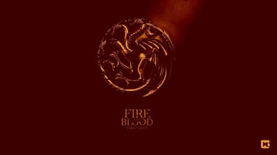 Akhuratha Wall Poster-game-of-thrones-house-targaryen-dragon-sigils-red Paper Print(12 inch X 18 inch, Rolled)  available at flipkart for Rs.312
