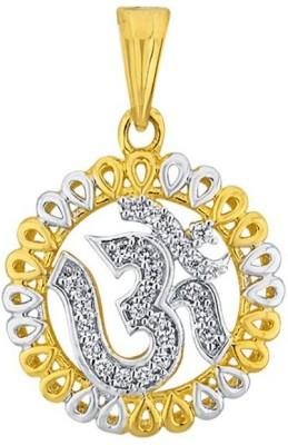 JPearls Om 18kt Diamond Yellow Gold Pendant
