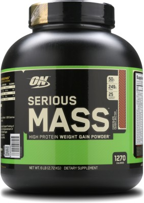Optimum Nutrition Serious Mass Weight Gainers/Mass Gainers(2.72 kg, Chocolate Peanut Butter)  available at flipkart for Rs.2770