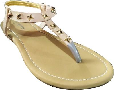 Fashionitz Women Beige Flats