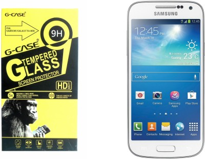 G-case Tempered Glass Guard for SAMSUNG Galaxy S4 Mini  available at flipkart for Rs.135
