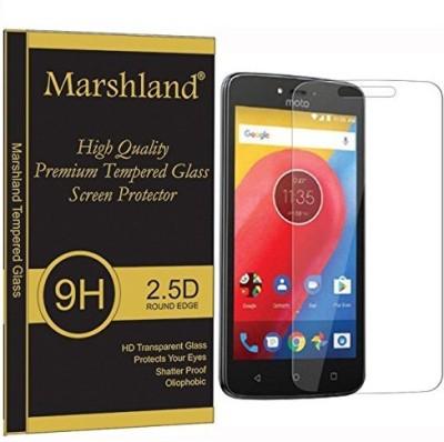 Marshland Tempered Glass Guard for Motorola Moto C Plus(Pack of 1)