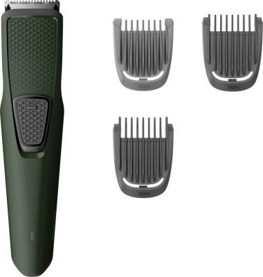 Philips BT1212/15 Cordless Trimmer for Men(Green)