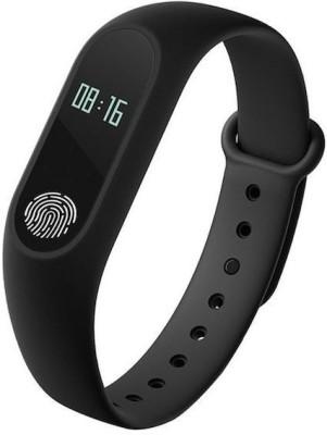 HiTechCart M2 Smart Fitness Band Activity Tracker with heart rate monitor Waterproof(Black) at flipkart