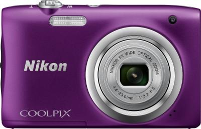 View Nikon Coolpix A100 Point & Shoot Camera(Purple) Price Online(Nikon)