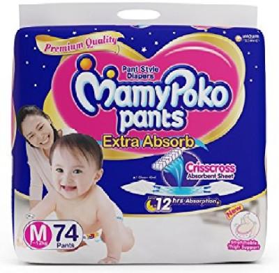 MamyPoko Mamy Poko Extra Absorb Pants   Medium 74U   M 74 Pieces MamyPoko Baby Diapers