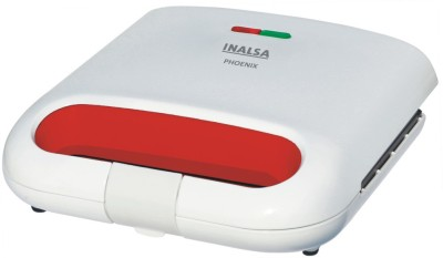 Inalsa Phoenix Grill Toaster Sandwich Maker Grill(White)  available at flipkart for Rs.975