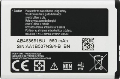 SAMTEK Mobile Battery For SAMSUNG Samsung L700 S5600 s3650 L700 S5600 s3650 -AB463651BU