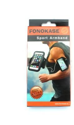 Fonokase -Protect in Style Arm Band Case for VIVO V7 Plus(Black)