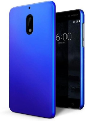 Roxel Back Cover for Nokia 6(Blue, Shock Proof, Plastic)