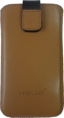 Fonokase Pouch for HTC Desire 310(Brown)