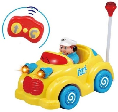 Toys Bhoomi Musical Infants RC Cartoon Remote Control Car for Toddlers Kids Children with Lights & Sound(Multicolor)