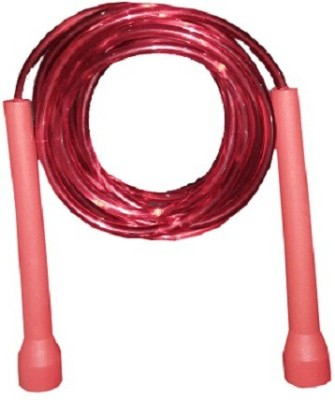 Parbat Speed jump-rope Freestyle Skipping Rope(Red, Pack of 1)  available at flipkart for Rs.99