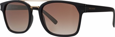 Park Avenue Wayfarer, Retro Square, Spectacle , Clubmaster Sunglasses(Brown, Clear)  available at flipkart for Rs.2943