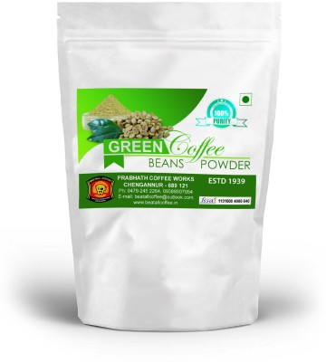 BEETALL Item Name (aka Title): 100% Pure & Natural Decaffeinated Green Coffee Bean Powder from Kerala - 400 gm - Rs. 499 (Pure Arabica Green Coffee bean/Powder contains Chlorogenic Acids - A natural Weight Loss Supplement) - FREE DELIVERY +40 Gms free for prepaid order Instant Coffee 400 g(Pack of 2  available at flipkart for Rs.499