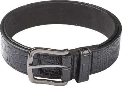 Hamilton Men Formal Black Artificial Leather Belt