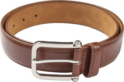 Hamilton Men Formal Brown Artificial Leather Belt